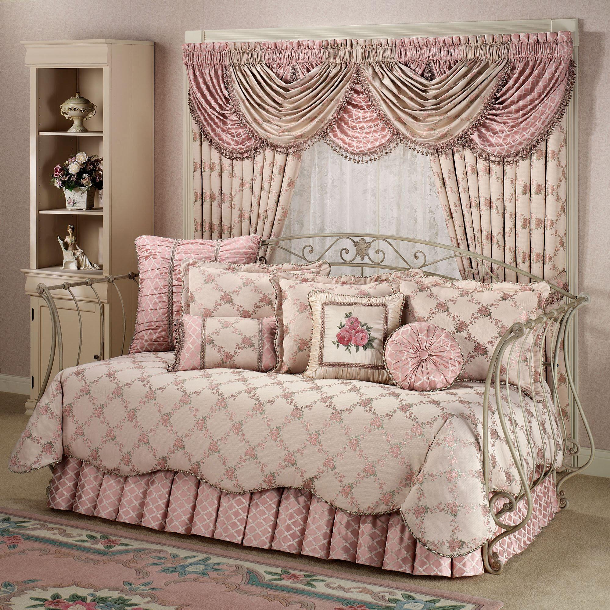Floral Trellis Daybed Set Daybed Bedding Sets Daybed Bedding Daybed Covers Daybed with trundle bedding sets