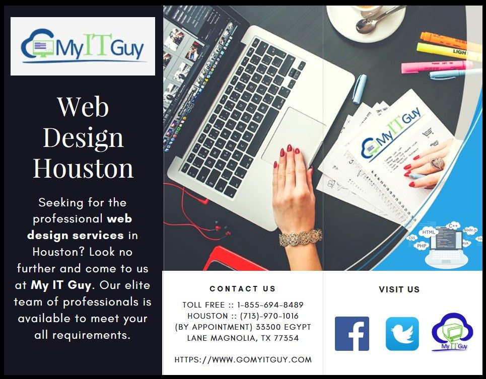 Seeking For The Professional Web Design Services In Houston Look No Further And Come To Us At My It Professional Web Design Web Design Web Design Services