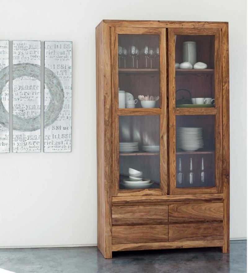 For your modern designs of kitchen crockery cabinet online for Bedroom cabinet designs india