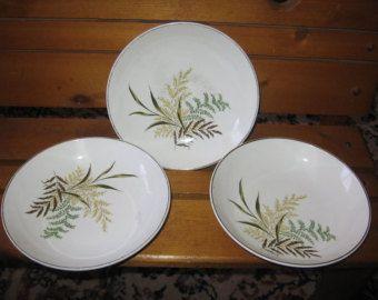 Pottery Leaves  Design Bowls :)
