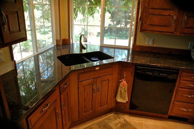 Undermount Corner Sink Close Dishwasher Corner Sink Kitchen Sink Design Kitchen Sink Design