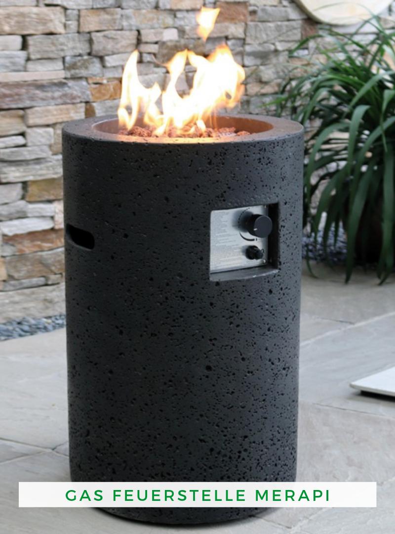 Gas Feuerstelle Merapi Feuerstelle Gas Feuerstelle Feuerstelle Garten