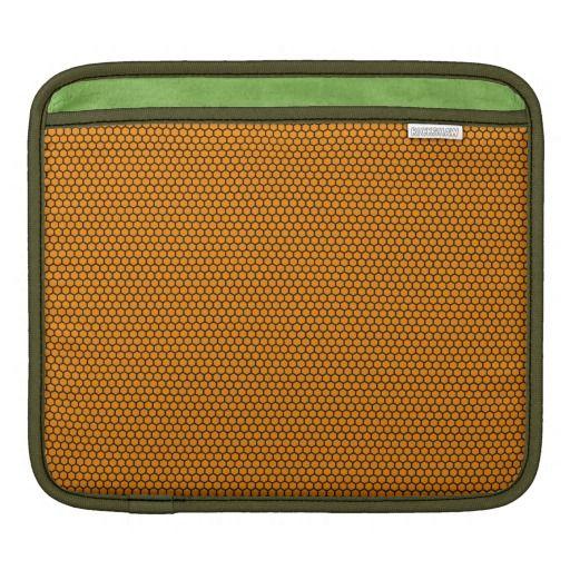 Honeycomb sleeve iPad sleeves