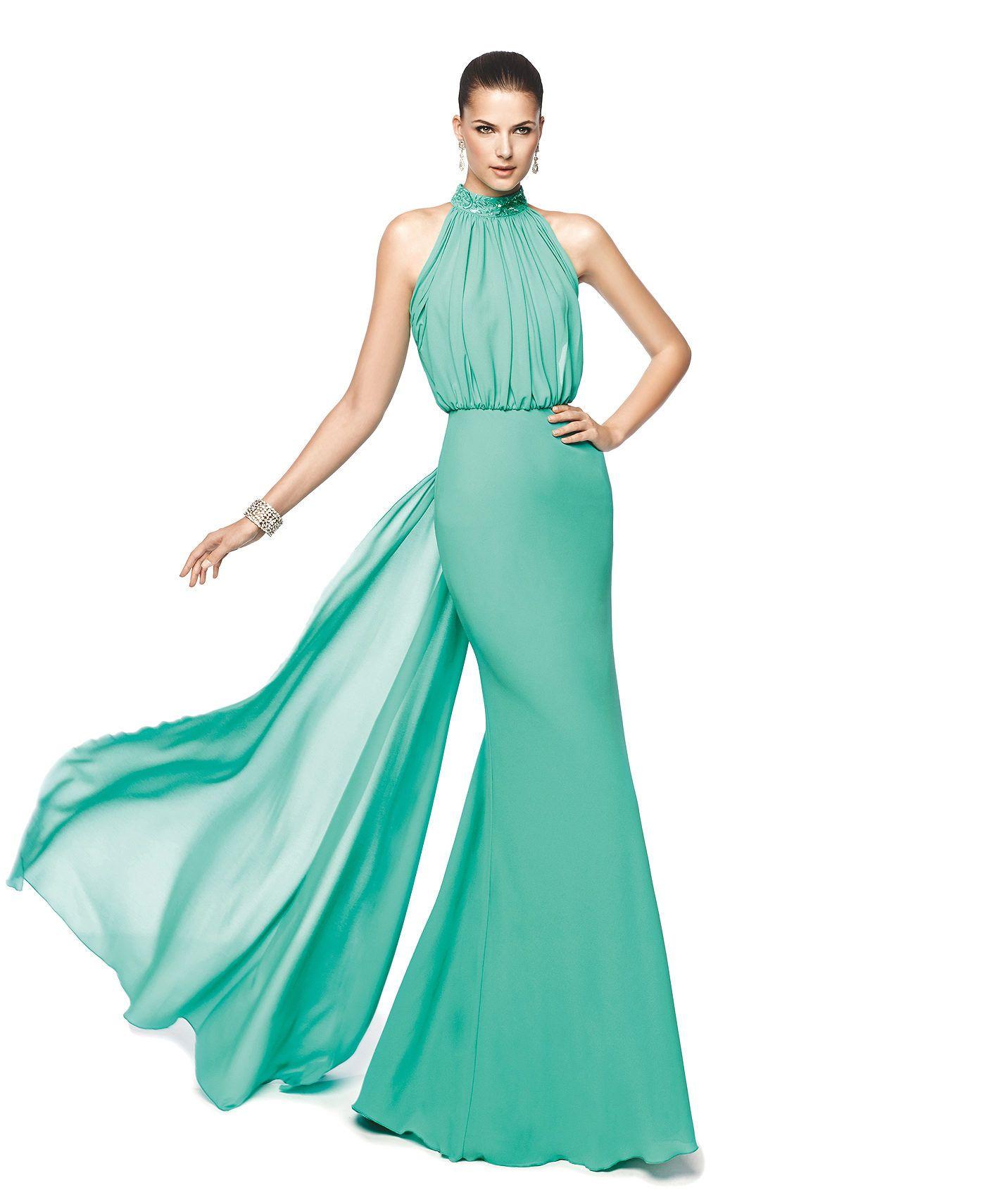 NADRA - Vestido de fiesta corte sirena. Pronovias 2015 | trajes de ...