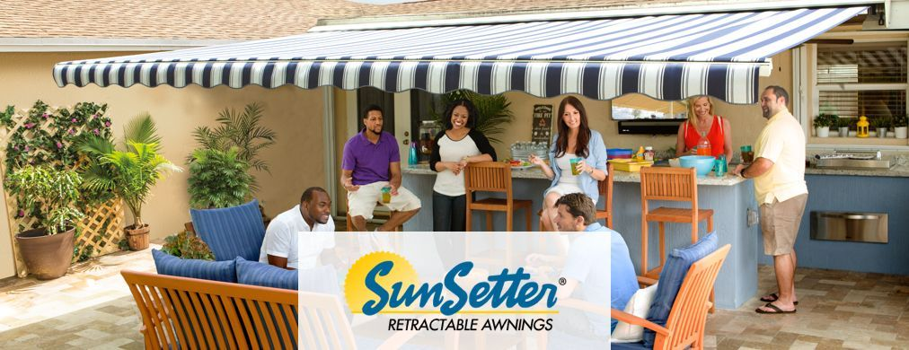 SunSetter retractable awnings. | Awning installation ...