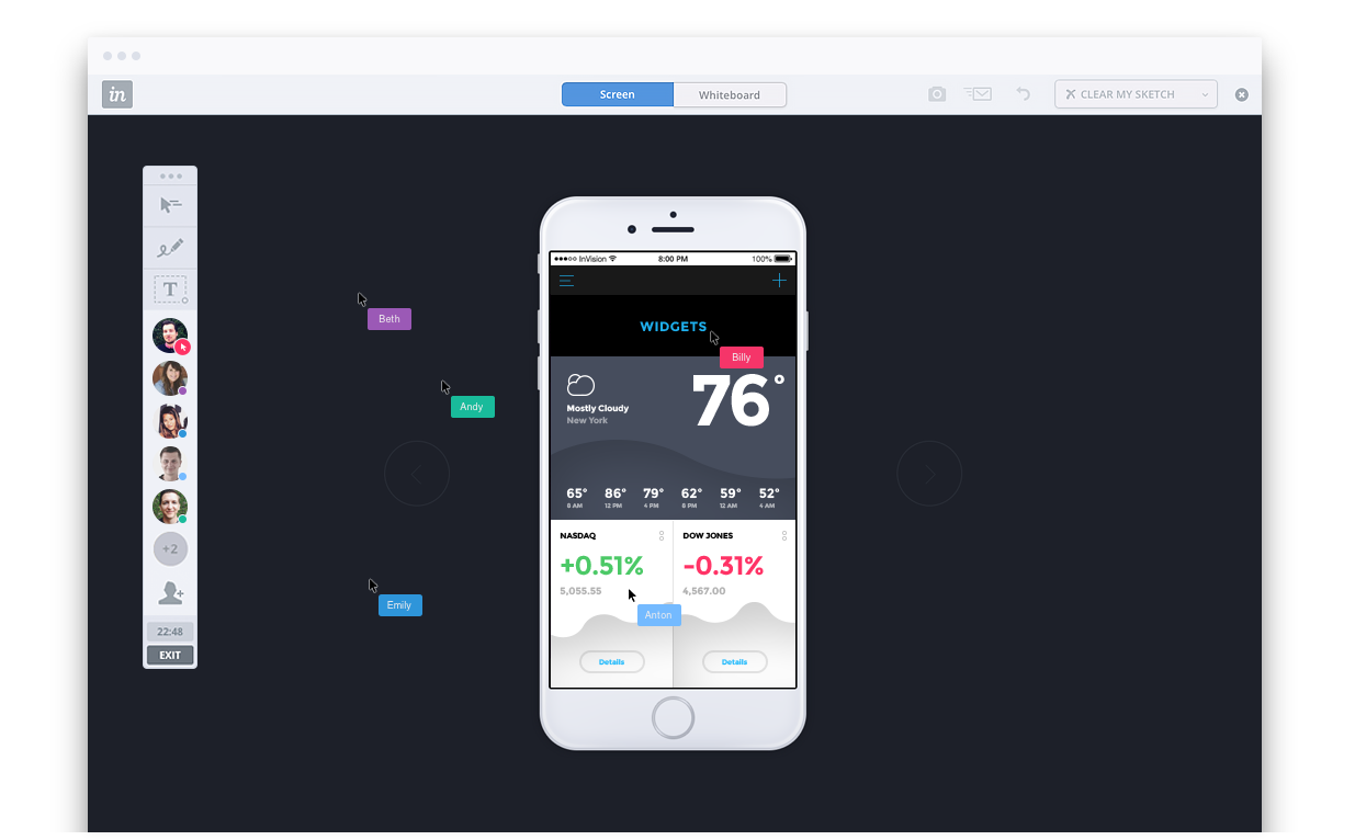 the worlds best companies use invision to design the products you love try invision free and turn your screens into live clickable prototypes in seconds - Android Mockup Tool Free