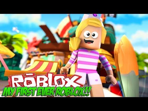 MY FIRST TIME PLAYING ROBLOX|| FACECAM!!!- Baby Leah Minecraft
