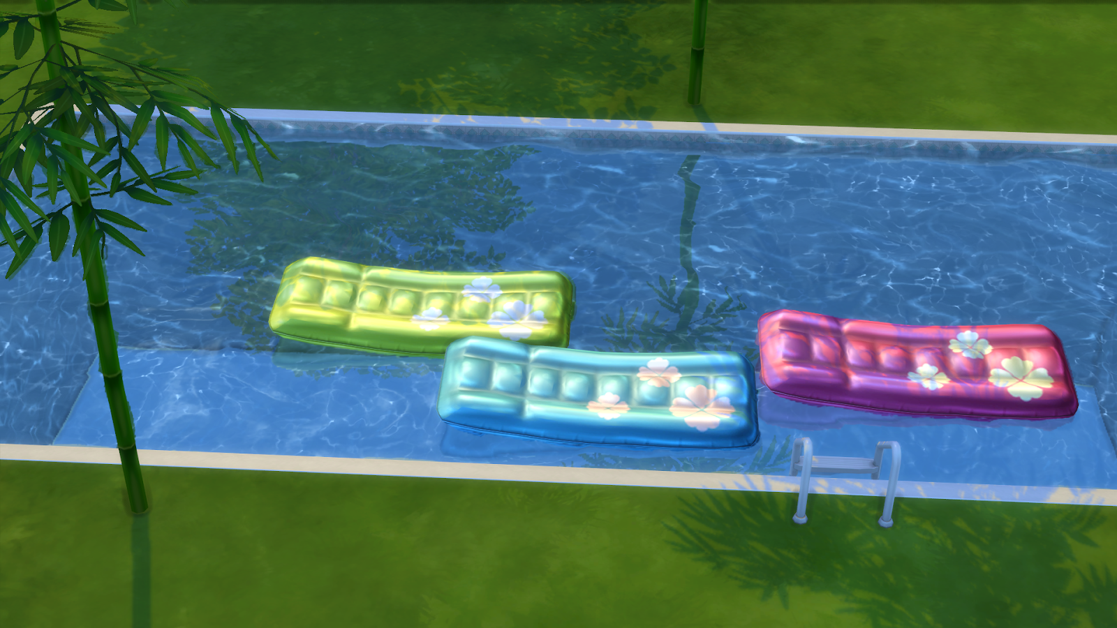 Cc for sims 4 pool deco s4 plage piscine pinterest for Pool designs sims 4
