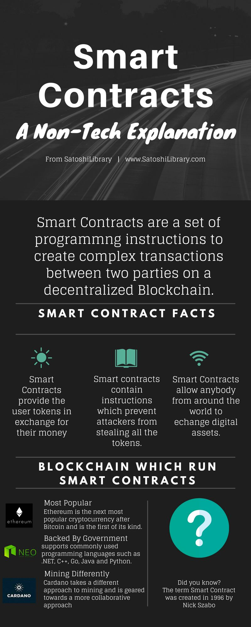 Smart Contracts : What are Smart Contracts | Blockchain