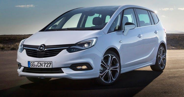 Meet The Facelifted 2017 Opel Vauxhall Zafira Tourer W Video Tourer Facelifting