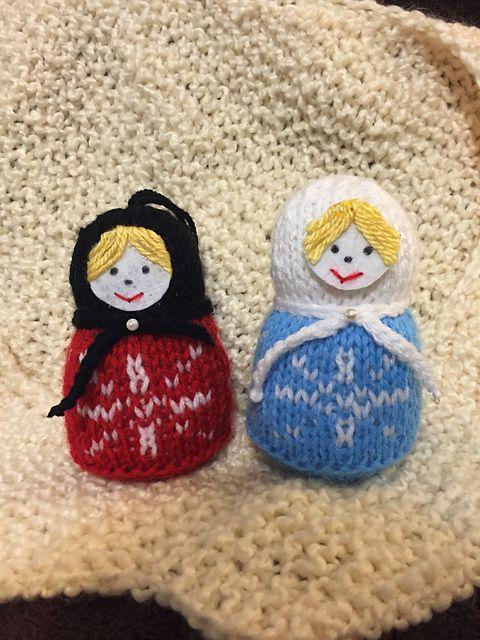 Matryoshka(Russian Doll) pattern by Olga Gubarev   Knitted ...