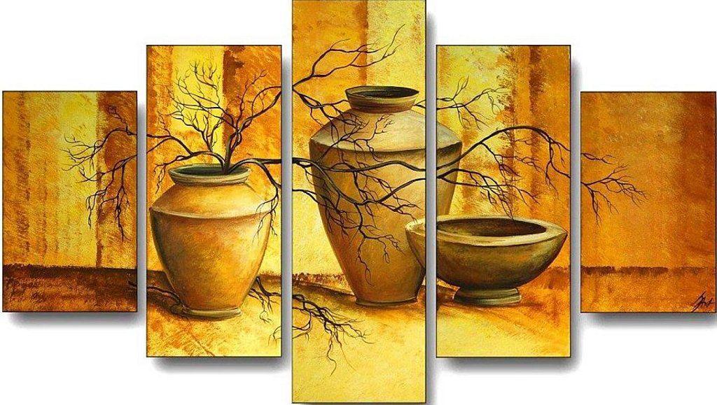 Salon moderno aprender manualidades es facilisimo - Manualidades cuadros modernos ...