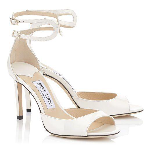4cf7335ca81ce Jimmy Choo LANE 85 Black Patent Leather, Leather Sandals, Chic Wedding,  Heels,