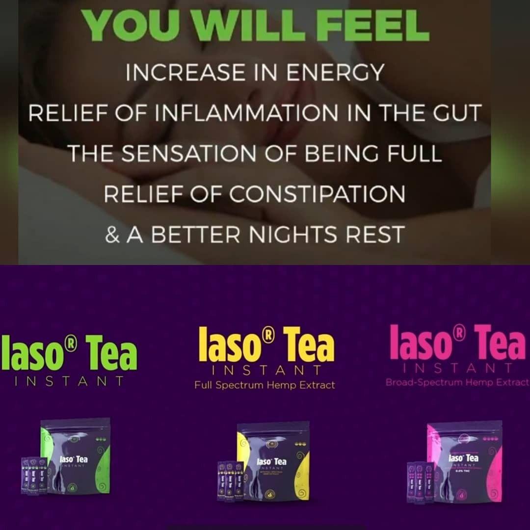 Cbd tea you can feel by tlc in 2020 iaso tea tlc total