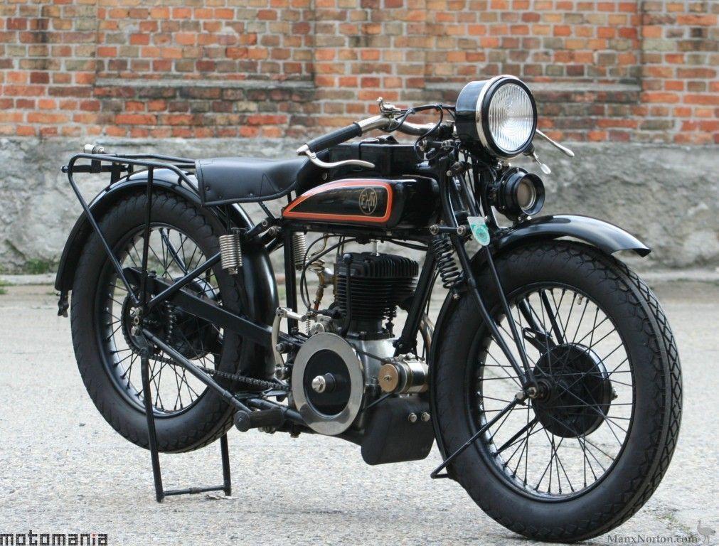 Harley Davidson 1928 28b 350cc 1 Cyl Sv: Classic Motorcycles