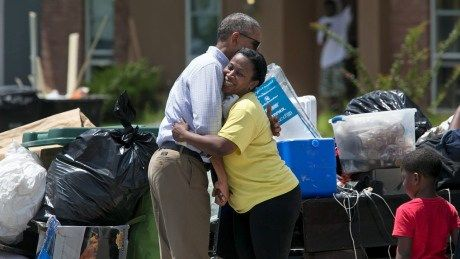 This is not a photo-op: Obamas Louisiana response a delicate act in politics of disaster