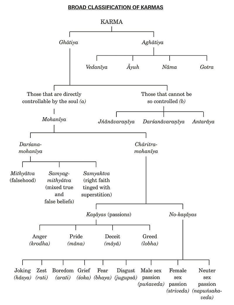Types Of Karma Karma In Jainism Wikipedia Jainism Karma Quotes Indian Philosophy
