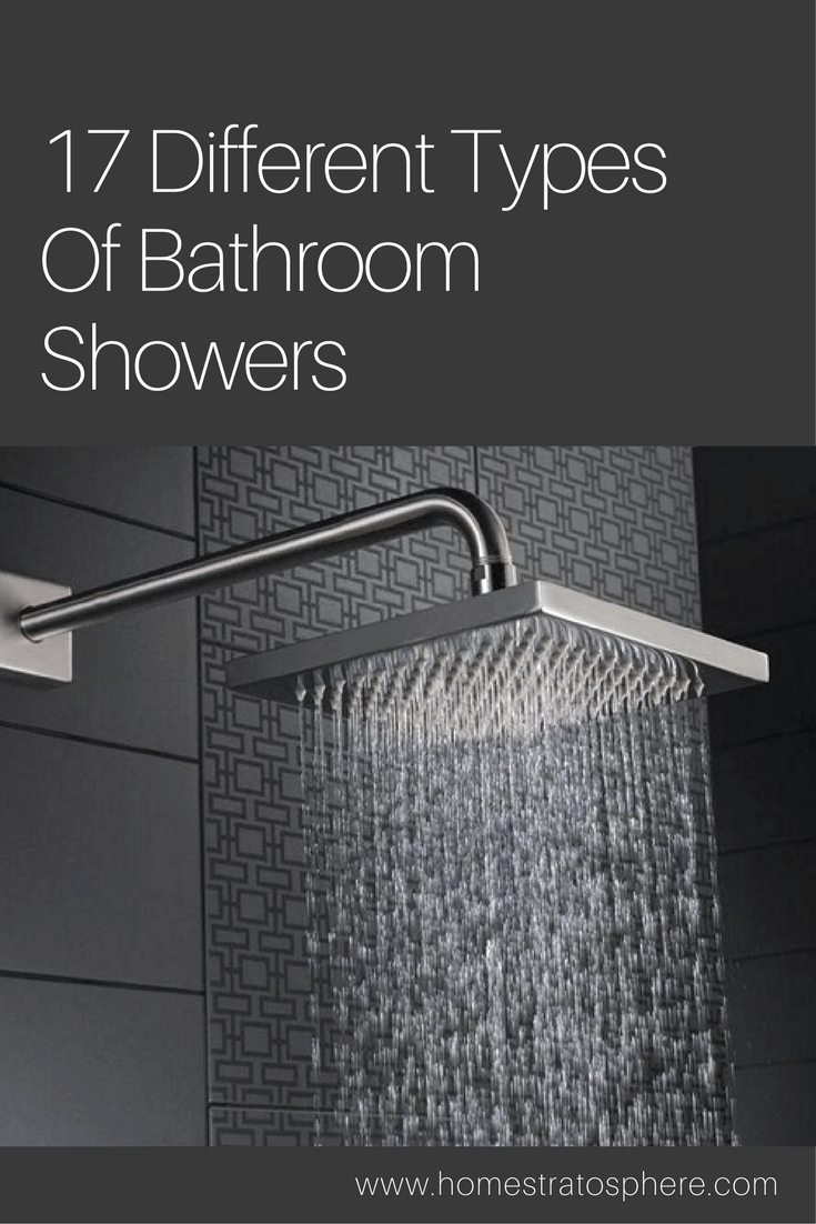 Types of bathroom showers - 17 Different Types Of Bathroom Showers Ultimate Buying Guide