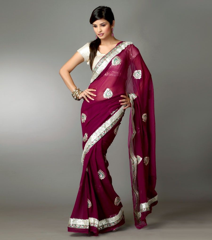 Purple dresses to wear to a wedding  purple maroon bridesmaid saree  Because I was Indian in my other