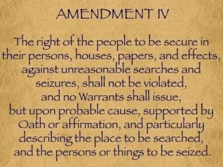 th amendment constitutional law constitutional  4th amendment