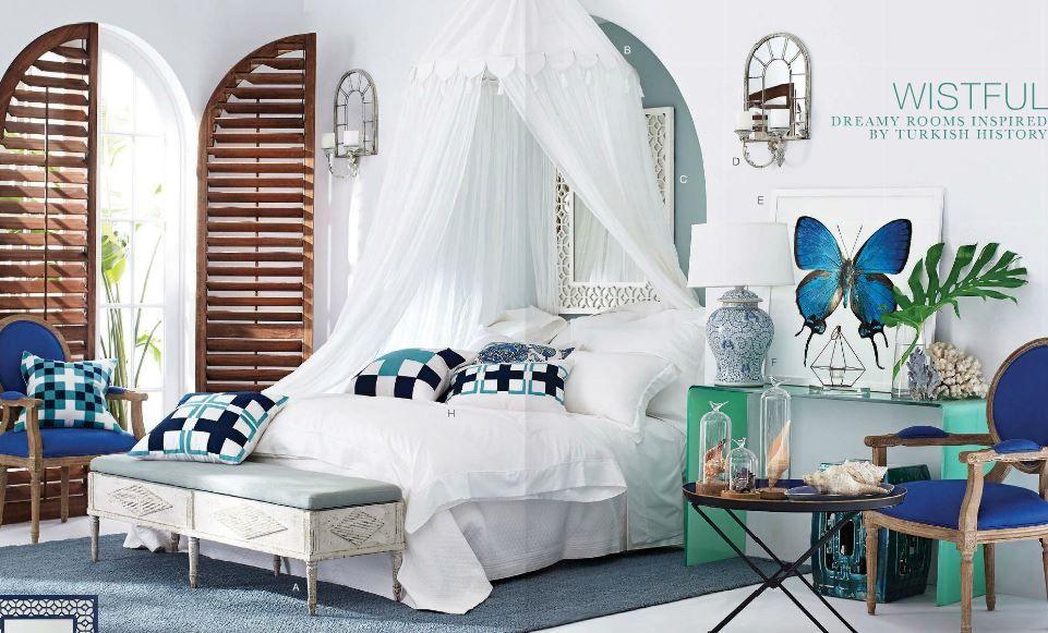 White Indigo Blue And Aqua Turquoise Color Scheme