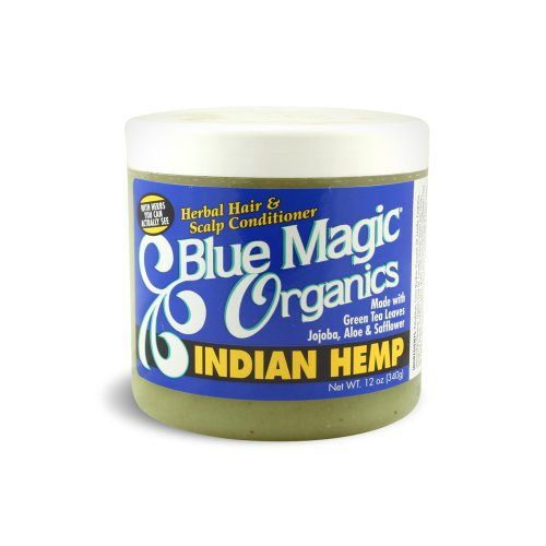 Blue Magic Indian Hemp Conditioner 12 Ounce Blue Magic Organic