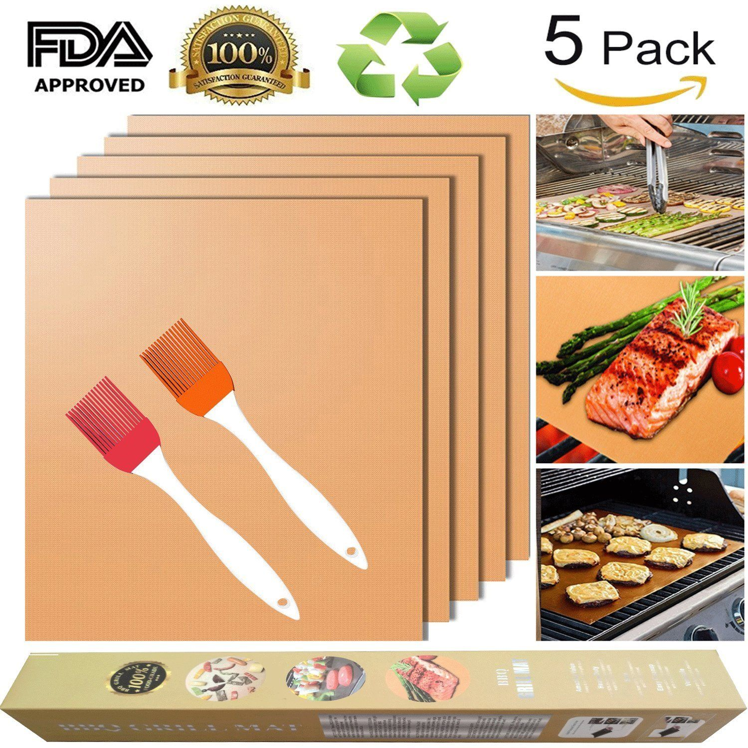 Top 10 Best Copper Grill Mat In 2020 Reviews And Purchasing Tips For Buyers Hqreview Cooking Accessories Grill Mats Baking Mat