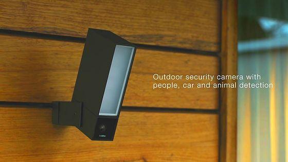 Presence la telecamera di sicurezza di Netatmo che riconosce persone auto e animali  CES 2016