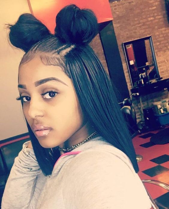 8 Quick Straight Hair Weave Cute Back To School Hairstyles For Black Girls Vipbeauty Hair Straight Hairstyles Hair Styles Weave Hairstyles