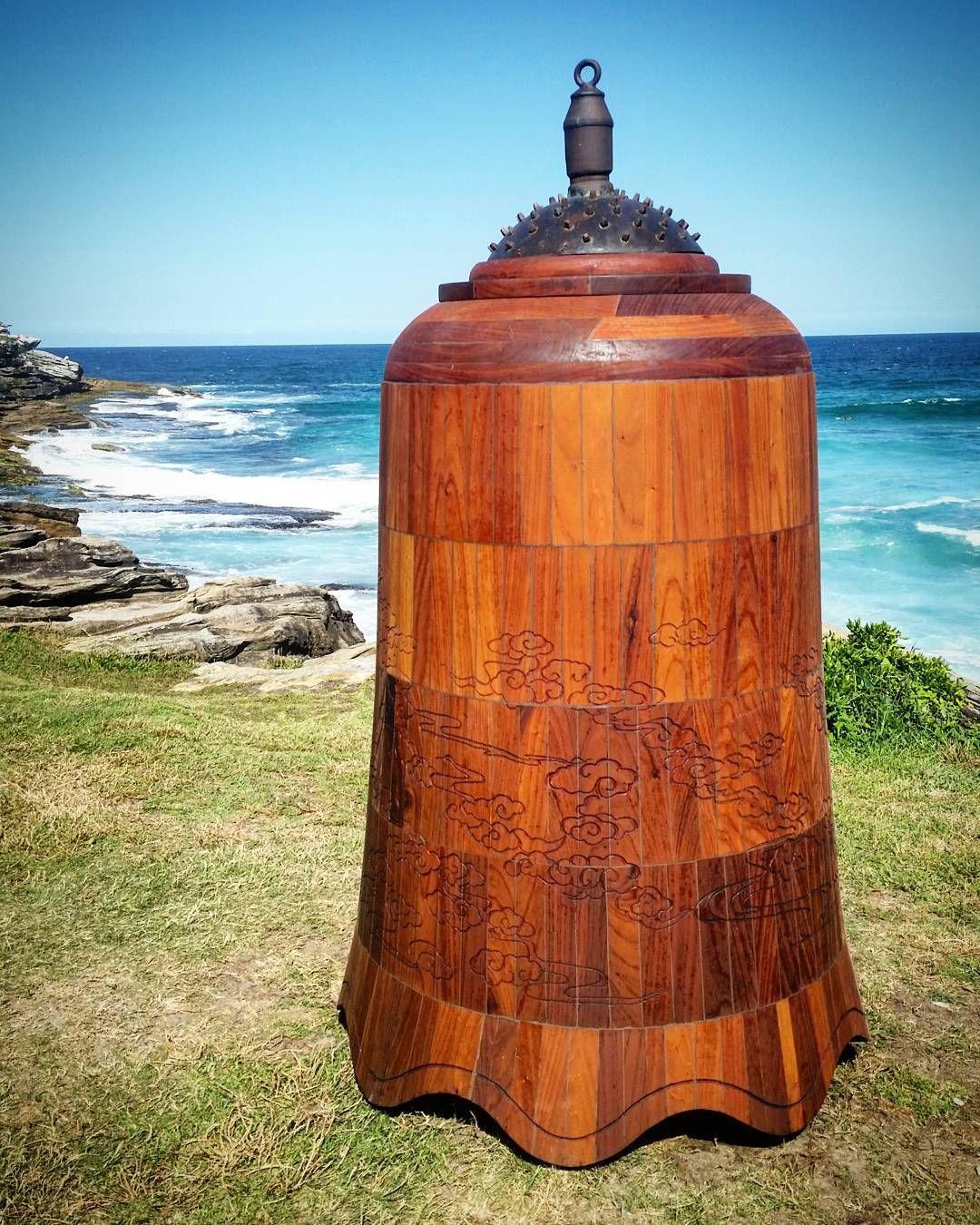 #bell #wooden #sydney #australia #igerssydney #sculpturebythesea #bonditobronte #australiagram by grgrgrshark http://ift.tt/1KBxVYg