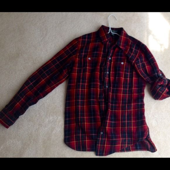 Ralph Lauren Jeans check shirt It's LRL 100% cotton check shirt. Very warm shirt -- great for winter and transition of seasons. Very comfortable. Ralph Lauren Tops