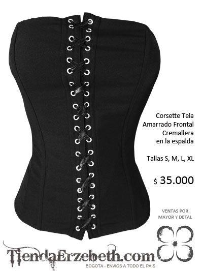 a71499c34 Corsets bogota baratos tienda erzebeth ropa metalera gotica negra femenina  brutal metachos tienda medellin cali manizales