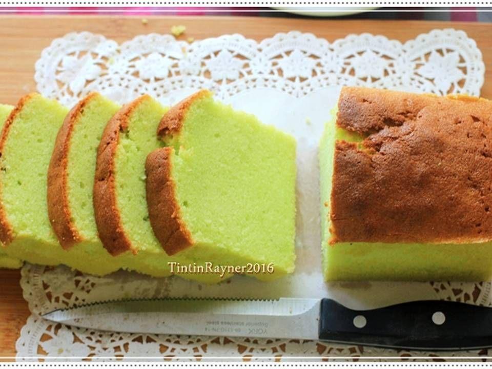 Resep Condensed Milk Pandan Pound Cake 5 Bahan Yummy Oleh Tintin Rayner Resep Resep Makanan Manis Kue Bolu Mentega