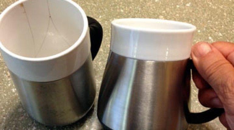 Archaic Ceramic Insulated Mug And Insulation Paste