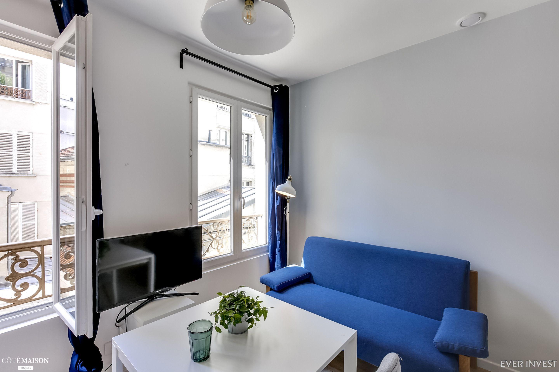 Un Studio De 22 M2 Restructuré Pour La Location Ever Invest Côté Maison Aménagement Petit Appartement Petit Appartement Maison