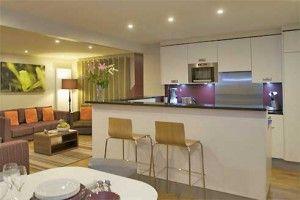 Center Parcs Cabin Woodland Living Room Kitchen Design Open Plan Kitchen