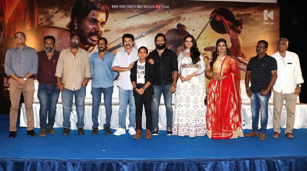 Megastar Mammootty At Mamangam Movie Press Meet