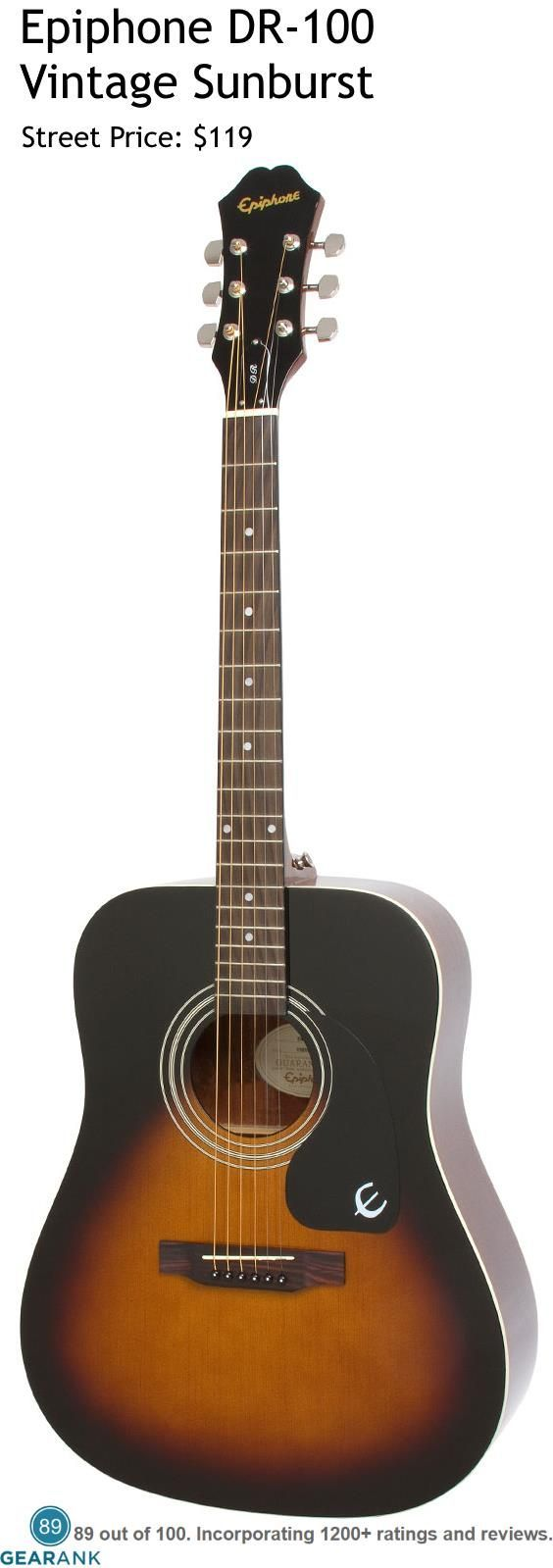 Epiphone Dr 100 Best Acoustic Guitar Guitar Reviews Epiphone Guitars