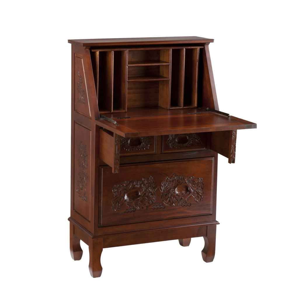 Secretary Desk With Hutch
