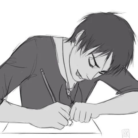 Eren drawing 1