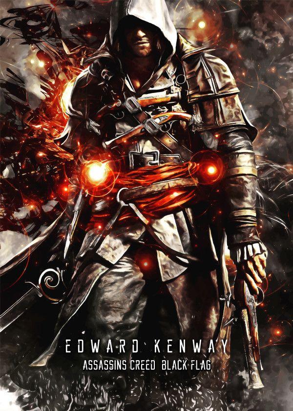Assassins Creed Black Flag Edward Kenway Assassins Creed
