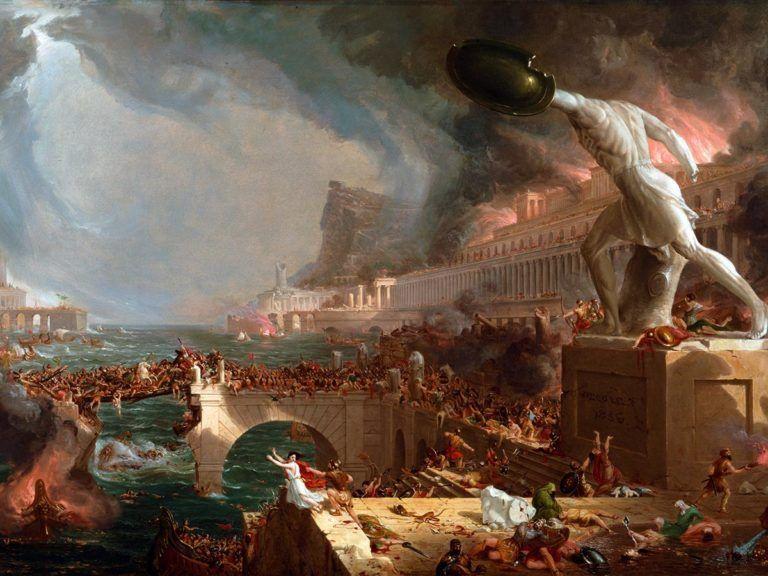 El Fin De Las Virgenes Vestales Y La Caida Del Imperio Romano Imperio Romano Impresion De Poster Romanos