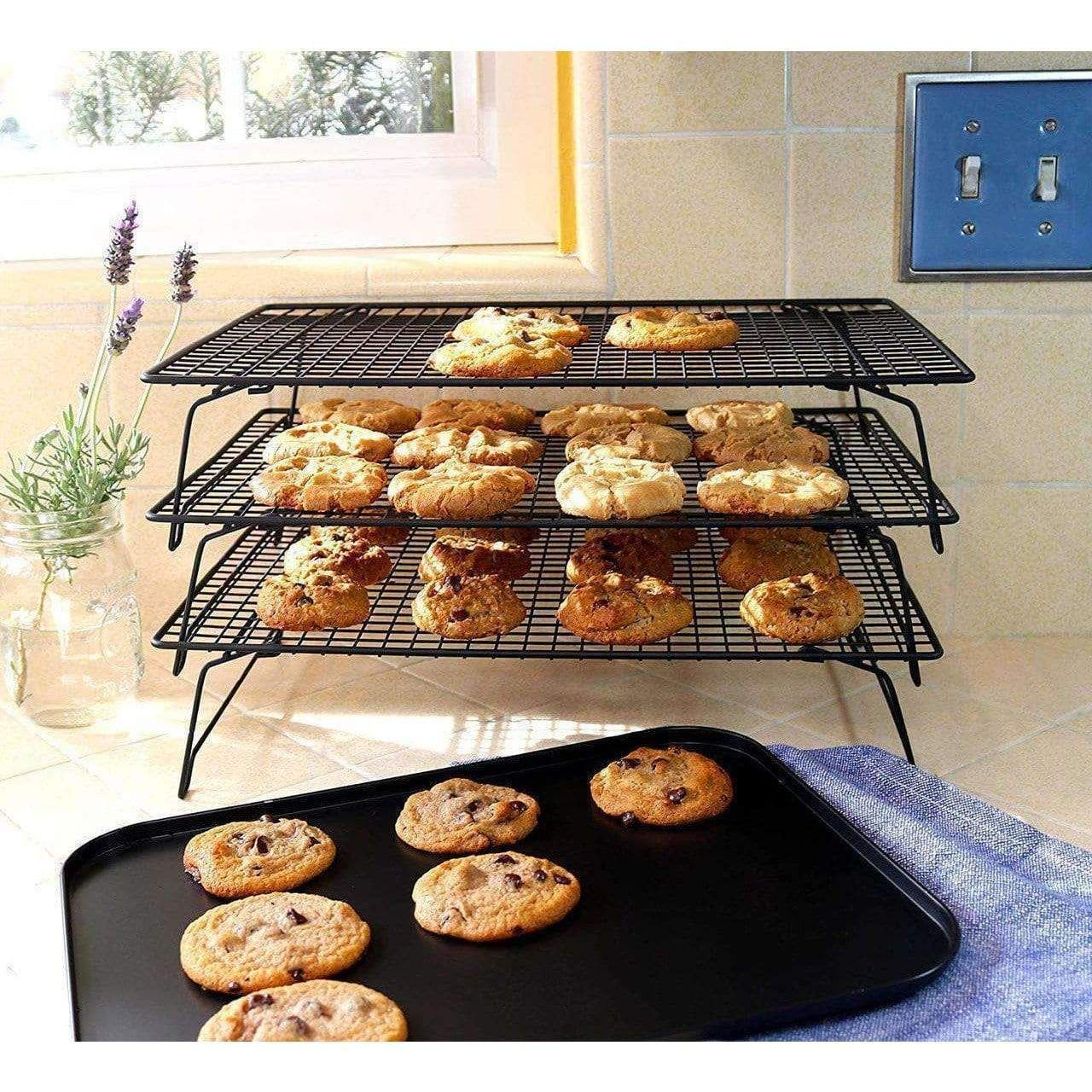 3 Tier Baking Cooling Rack Cooling Racks Air Fryer Oven Recipes Baking