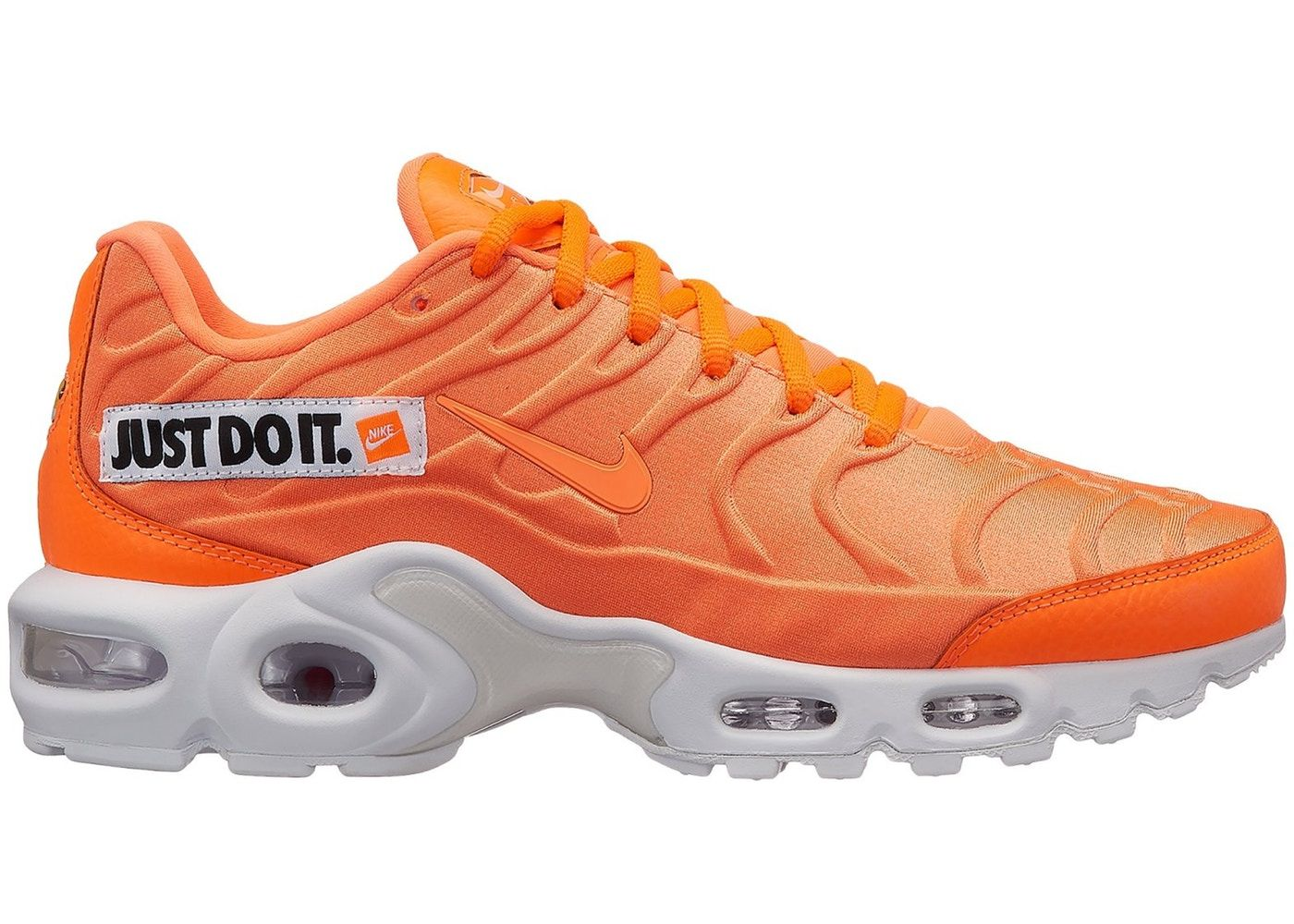 f0c3609a06 Check out the Air Max Plus Just Do It Pack Orange (W) available on StockX