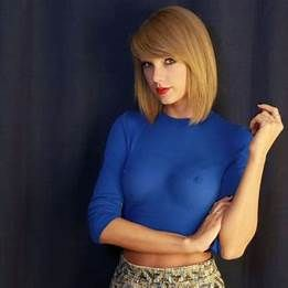 Taylor Swift Nipples Pinched