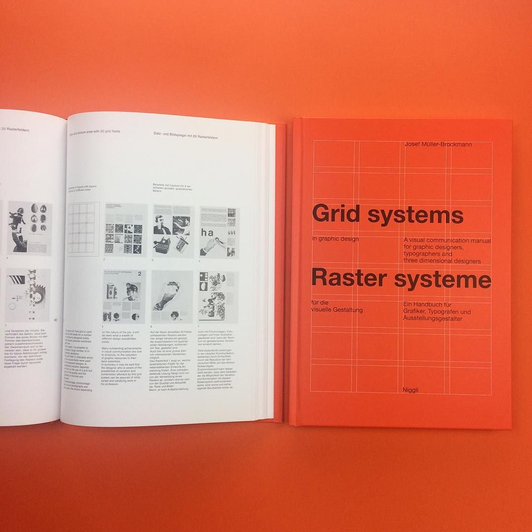 Another Design Classic On Counter Print You An Find Grid Systems By Josef Muller Brockmann Within Our Graphic Design Section O Grid System Book Print Grid
