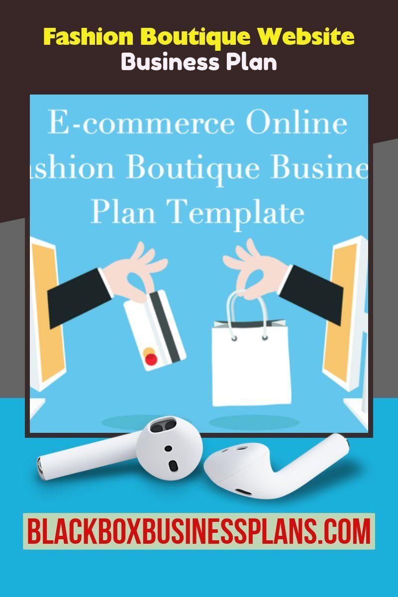 Fashion Boutique Website Business Plan Fashion business