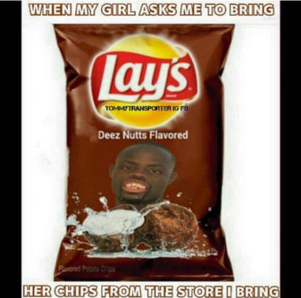 Deez Nuts Potato Chips Meme Deez Nuts Potato Chips Funny