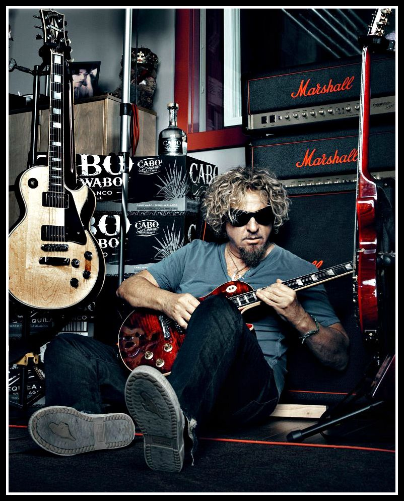 Sammy Awesome Picture Sammy Hagar Rock Music Rock And Roll