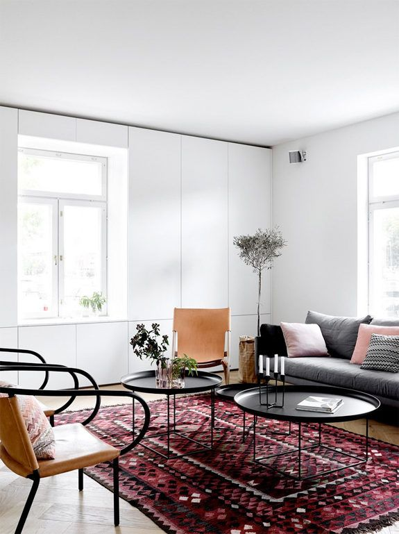 Modern Classic Living Room Interior Design: Modern Finnish Design In A Classic Color Palette.